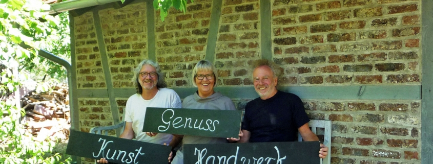 Kunst–Genuss–Handwerk 2019 an der Eibensbacher Strasse in Güglingen